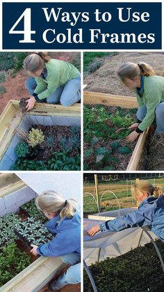 4 Ways to Use a Cold Frame No matter what your climate, these plant shelters expand your gardening options Diy Garden Projects, Garden Ideas, Simply Learning, New Things To Try, Cold Frame, Grow Together, Garden Structures, Urban Farming, Garden Gates