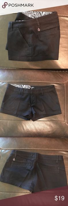 Volcom Shorts - 3 (26 inches) 2 Inch Inseam Volcom Shorts - 3 (26 inch waist) 2 Inch Inseam - Excellent Condition - They have been dry cleaned. Never dried in the dryer. Volcom Shorts