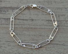 Check out our emo jewelry selection for the very best in unique or custom, handmade pieces from our shops. Emo Jewelry, Grunge Jewelry, Weird Jewelry, Cute Jewelry, Jewelry Crafts, Jewelery, Jewelry Accessories, Safety Pin Jewelry, Diy Accessoires
