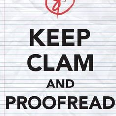 #proofread #pr #writing