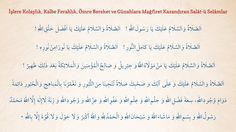 İşlere Kolaylık, Kalbe Ferahlık, Ömre Bereket Veren Salat-u Selam - Cübbeli Ahmet Hoca'dan Dua ve Zikirler