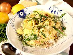 Pasta med tonfisksås och kapris | Recept.nu