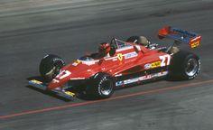 Gilles Villeneuve (United States 1982) Ferrari 126C