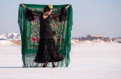 Un clásico. El negro, nunca puede faltar. Trajes de flamenca que nunca pasan de moda.