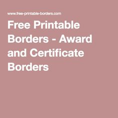 Free Certificate Border Templates For Word Free Word Certificate Templates & Wording Geographics  Counselor .