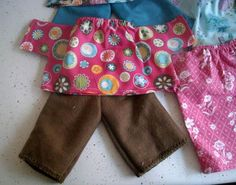 Doll clothes patterns....fun.
