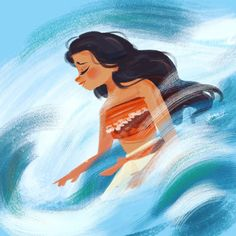 Souris the mouse - She loves ocean.