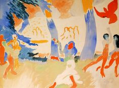 André Derain (France 1880-1954) La Danse (1905-1906) watercolour and pencil on paper