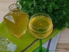 Syrop miętowy z limonką