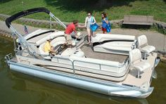 New 2010 Cypress Cay Boats 200 Cabana Pontoon Boat