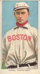 1909-11 The American Tobacco Company T206 White Border #459 Jake Stahl (No Glove Shows) Front