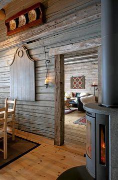 OPPVARMING: Store hytter med store rom kan fort bli kalde i løpet av natten, da… Norway House, Mountain Dream Homes, Timber Frame Homes, Log Cabin Homes, Cabins And Cottages, Inspired Homes, My Dream Home, Home Projects, Sweet Home