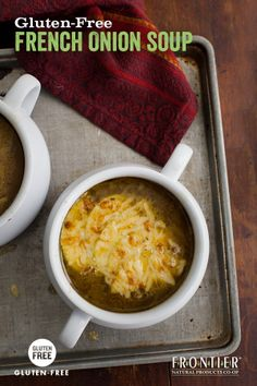 , thyme and apples make for a memorably different french onion soup ...