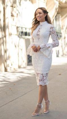 Stylish Dress Designs, Stylish Dresses, Casual Dresses, Fashion Dresses, Classy Dress, Classy Outfits, Short Lace Dress, Short Dresses, Pencil Dress Outfit