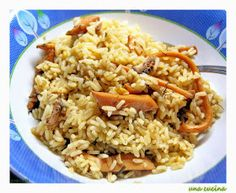 Seven Fishes, Food N, Orzo, Greek Recipes, Fish And Seafood, Fried Rice, Yummy Food, Lunch, Ethnic Recipes