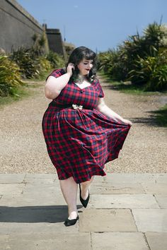 Here Comes The Summer, Summer Lily, Ootd, Love Photos, Swing Dress, Tartan, Diana, Dj, Plus Size