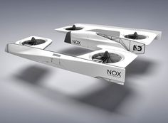 NOX first person view quadcopter concept designboom