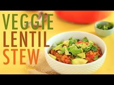 Easy Veggie Dal Stew | Healthy Vegan Dinner Recipe - YouTube