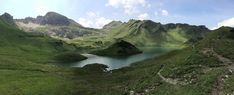 Bergtour zum Schrecksee, dem schönsten Bergsee der Allgäuer Alpen. Die Wanderung zum Schrecksee beginnt in Hinterstein bei Bad Hindelang.
