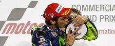 Tra le righe...: MotoGp 2015, Qatar: trionfa Valentino Rossi e due Ducati salgono sul podio