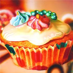 Sarah Graham Hyperrealism Sarah Graham Artist, Graham Cake, Still Life Artists, Cupcake Pictures, Hyper Realistic Paintings, Food Artists, Hyperrealism, Photorealism, Food Painting