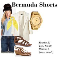 BERMUDA SHORTS | Polyvore Mood Board