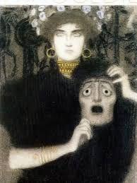 Gustav Klimt, The allegory of the tragedy.