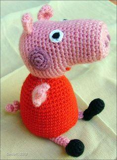 93d08e69079 7 Best peppa pig knitting images
