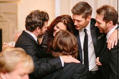 Jared And Jensen, Supernatural Cast, Winchester, It Cast, Couple Photos, Party, Wedding, Instagram, Friends