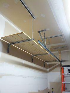 Garage shelves from ceiling - The Garage Journal Board