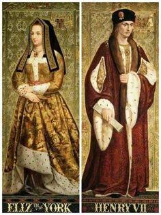 Elizabeth of York and Henry Vll Asian History, British History, Adele, Margaret Tudor, Anne Neville, Elizabeth Of York, Strange History, History Facts, Tudor Dynasty