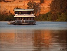 House Boat on the Murray River *** South Australia