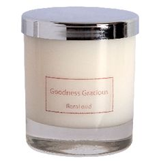 Floral Oud scented candle.