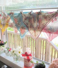 fun playroom curtain idea.