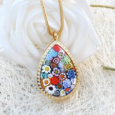 Medaillonkette Drop Drop, Necklaces, Pendant Necklace, Jewelry, Fashion, Great Gifts, Neck Chain, Jewellery Making, Moda