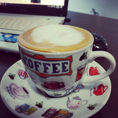 #buongiorno .. #coffee @ the #office !!! . #working #cafe #coffeetime #goodmorning #goodday #rainyday