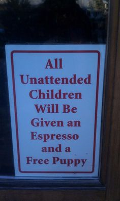 can I be an unattended child?