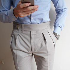 THE BASIC – Men's style, accessories, mens fashion trends 2020 Nigerian Men Fashion, Indian Men Fashion, Mens Fashion Suits, Fashion Pants, Men Trousers, Mens Dress Pants, Men Dress, Dress Shoes, Formal Men Outfit
