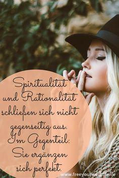 Spiritualität & Rationalität schließen sich überhaupt nicht aus! KLICK auf das Bild und finde mehr heraus :) www.freeyourworklife.de #spiritualität #erfolg #erfüllung #glück #zufriedenheit #freeyourworklife | Bildquelle: unsplash(dot)com