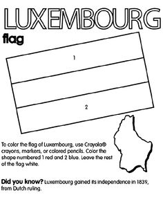 luxembourg flag meaning
