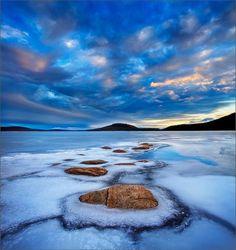 Emerging, Quabbin Reservoir, Massachusetts, USA, by Patrick Zephyr