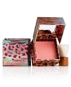 love coral colored blush. BeneFit CORALista is a good alternative to TooFaced Papa Don't Peach that was discontinued.