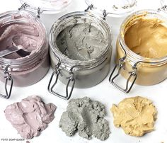 Clay face masks are becoming so popular these days, here& 8 DIY clay masks that are just too pretty to look at! Clay face masks are becoming so popular these days, heres 8 DIY clay masks that are just too pretty to look at! Diy Beauty Secrets, Makeup And Beauty Blog, Huda Beauty, Best Homemade Face Mask, Clay Face Mask, Diy Hair Mask, Clay Faces, Skin Mask, Diy Clay