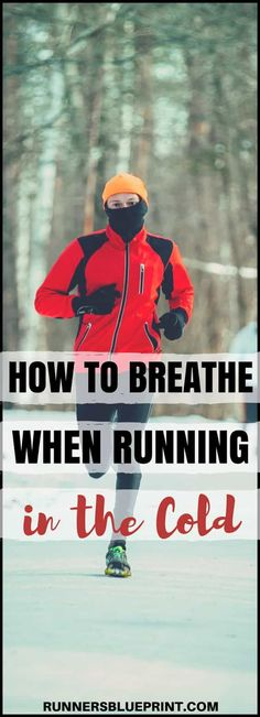 Here are the guidelines you need to keep the cold air from taking your breath away. Implement the following tips to help you breathe better throughout your outdoor winter workouts. #Breathing #running #winter