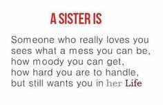 My sisters, my heroes. ❤