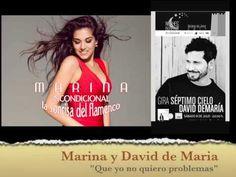 """David de María con 'Séptimo Cielo'    Colaboración de Marina cantando """" ..https://youtu.be/C6qwGFKiKn4"""