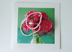 Zomerse, roze armbandjes - byAnnemae
