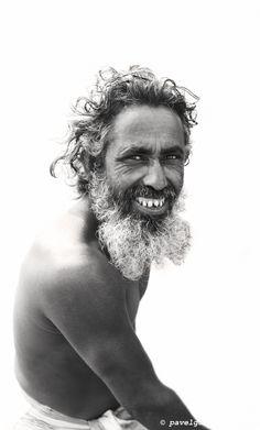 Portrait of a fisherman, Fishermen settlement near Chamdomban village, East Side of Kirtonkhola River, Barisal, Barisal District, Bangladesh, Indian Sub-Continent, Asia.