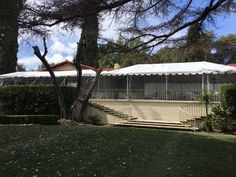 Rain or shine we're ready! #kellogghouse #tenting #outdoorvenue