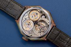 Ferdinand Berthoud Chronomètre FB 1R Edition 1785, backside Ferdinand, Initials, Bronze, Watches, Accessories, Wrist Watches, Wristwatches, Tag Watches, Watch